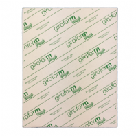 A4 NCR Paper White Green 2 Part Sets - 1 Box 250 Sets